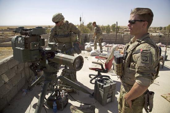 据美联社5日报道,美国主导的国际联盟位于伊拉克的一处基地的西方军事
