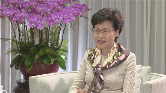 专访香港特区行政长官林郑月娥:中央出手给香港生机 助其走出困局