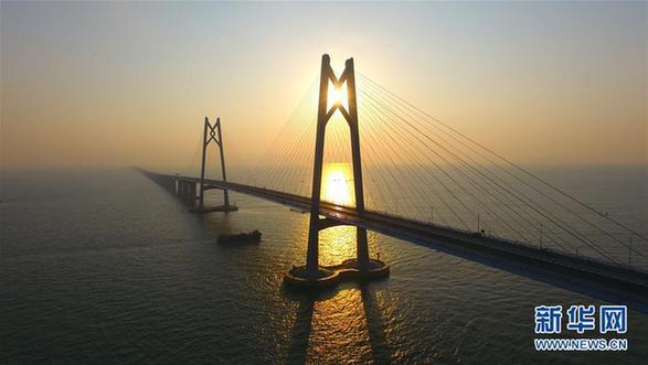 世界最长跨海大桥港珠澳大桥主体工程如期具备通车条件