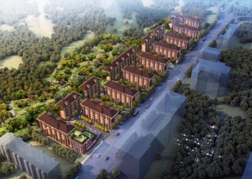石景山区玉景阳光共有产权房项目鸟瞰图。来源:北京市住建委官网