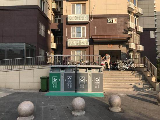 北京一小区垃圾分类用上人脸识别累计积分可兑奖