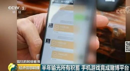 央视曝光赌博app 打着平台擦边球 俱乐部月入百万元