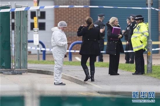 英国货车39具尸体被发现