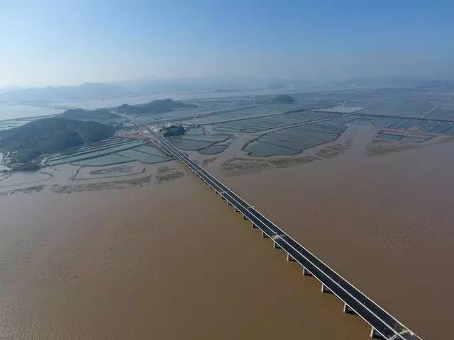 再过一个月 三门湾大桥及接线工程(宁波段)将全线建成